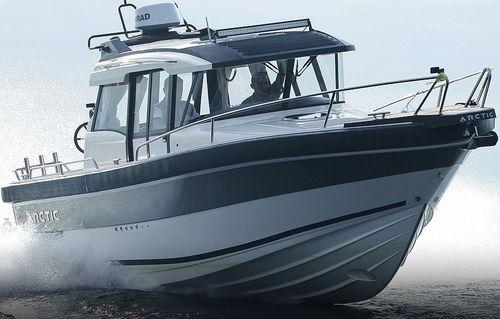Cabin-Cruiser / Innenborder / zweimotorig / Hard-top / für Angelsport
