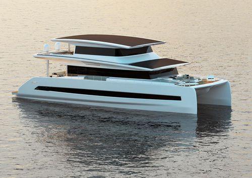 Katamaran-Motoryacht - SILENT-YACHTS