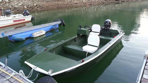 Jon-Boat / Außenbord