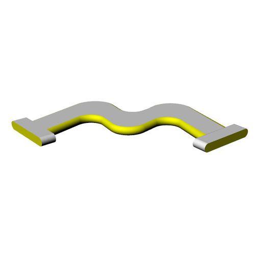Steilkurve-Wasserspielgerät