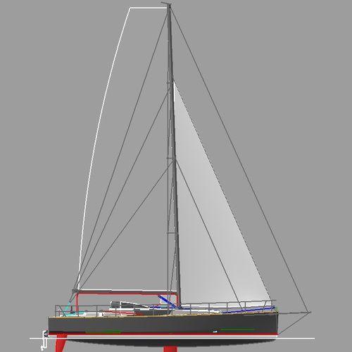 Segelboot für sportliches Fahrtensegeln
