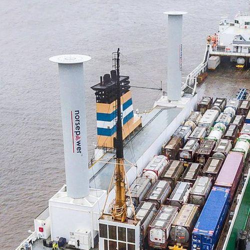 Flettner Rotor / für Schiffe
