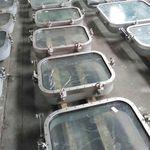 Fenster für Schiffe / festinstalliert / gleitend / Brandschutz