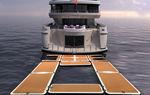 Plattform für Yachten / aufblasbar / Modulare