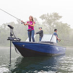 Bay-Boat / Außenbord / Doppelkonsole / Sportfischer / Aluminium