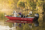 Bass-Boat / Außenborder