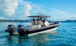Patrouillenboot Berufsboot / Außenbord / Festrumpf-Schlauchboot
