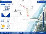 Navigationssoftware / Wetter / für Boot / für Segelboote