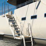 Treppe für Yacht