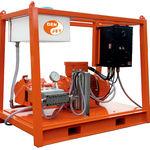 Hochdruckreiniger für Werft / vormontiert / elektrisch / ATEX