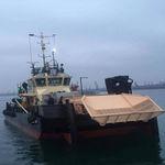 Ölrückführungsboot