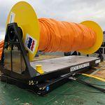 Rollreffanlage für Ölsperren