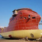 Offshore Service Schiff / Versorgung