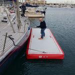 Plattform für Boot / für Freizeitanlagen / aufblasbar / kundenspezifisch