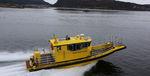 Such- und Rettungsboot Berufsboot / Innenborder / Aluminium