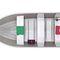 Offenes Boot / Außenbord / Sportfischer / Aluminium / max. 4 Personen