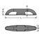 Klampe zur Anwendung auf Booten / zum Öffnen / anodisiertes Aluminium