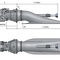 Jetantrieb Turbine / für Arbeitsboote / für Patrouillenboote / für Schiffe