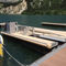 Barge zum Abpumpen des Schmutzwasser
