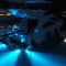 Unterwasserbeleuchtung für Boot