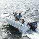 Außenborder-Konsolenboot / Mittelkonsole / Sportfischer / max. 6 Personen