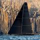 Segel-Superyacht / Regatta / mit offenem Heck