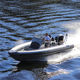 Außenborder-Schlauchboot / Festrumpf / Mittelkonsole / max. 8 Personen