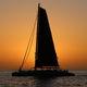 Segel-Yacht / Katamaran / Charter / mit offenem Heck / Bugspriet
