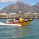 Rettungsboot Berufsboot / Außenbord / Festrumpf-Schlauchboot