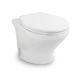 WC für Boot / mit Zerkleinerer / Standard / Keramik