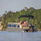 Außenborder-Pontonboot / tri-tube / max. 15 Personen