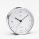 analoge Uhr / aus Chrom