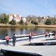 Schwimmponton / Anker / für Rudersport