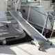 Gangway für Boot / faltbar / manuell / mit Handlauf