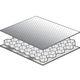 Sandwichplatte zur Schalldämmung / Aluminium-Wabenstruktur / Aluminium