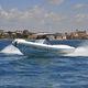 Innenborder-Schlauchboot / zweimotorig / Festrumpf / Mittelkonsole