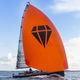 Segelboot für sportliches Fahrtensegeln / Daysailer / mit offenem Heck / Carbon