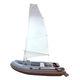 Außenbord-Schlauchboot / RIB / faltbar / Saildrive