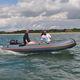 Außenborder-Schlauchboot / Festrumpf / faltbar / Open