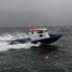Patrouillenboot / Innenborder / Aluminium / Festrumpf