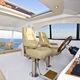 Steuermannsitz / für Boot / für Yachten / mit Armlehnen