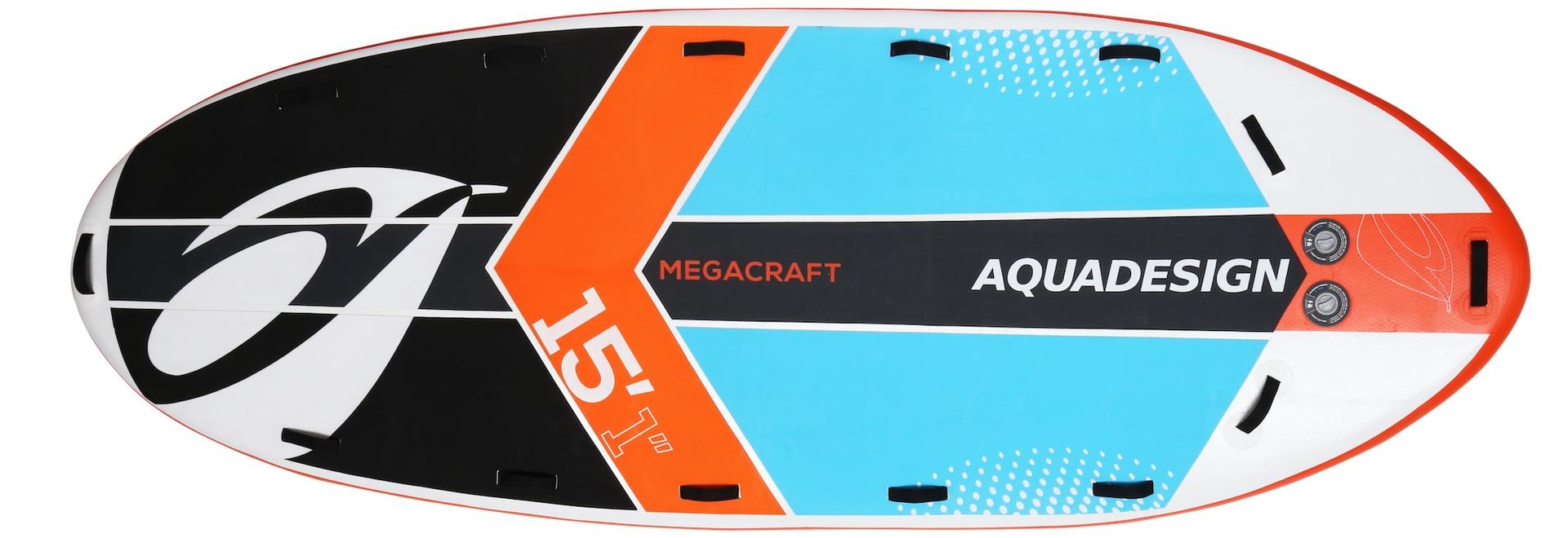 15' orange Vorderansicht 1Megacraft