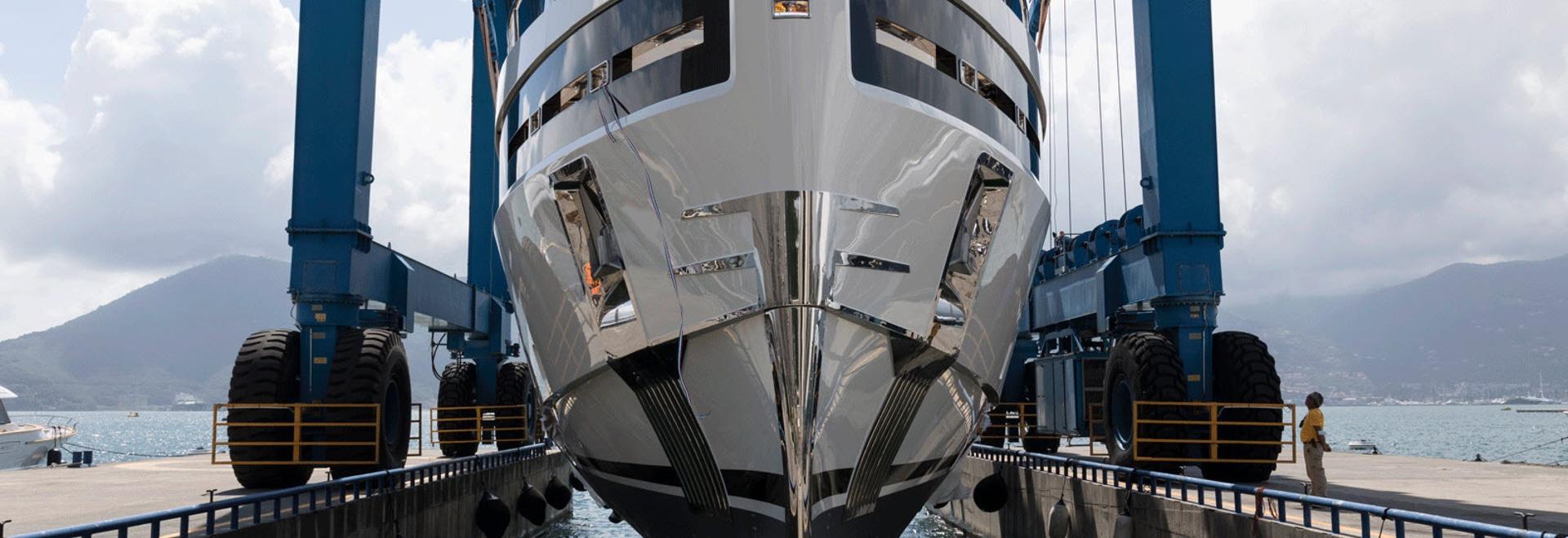 Baglietto lanciert 40-Meter-Yachtrumpf 10232