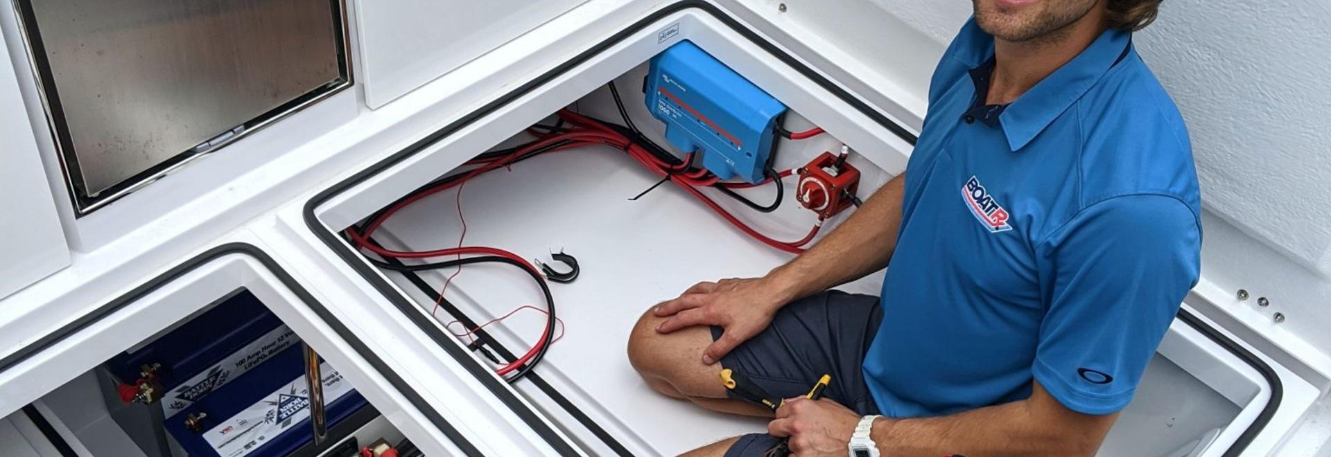 DC-Klimaanlage - Komfort auf dem Wasser, kein Generator erforderlich