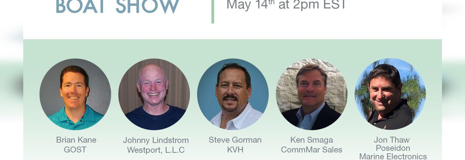 Erfahren Sie mehr über Internet und Fernsehen für Boote und Yachten auf den KVH-Bildungsseminaren 5/14 und 5/20