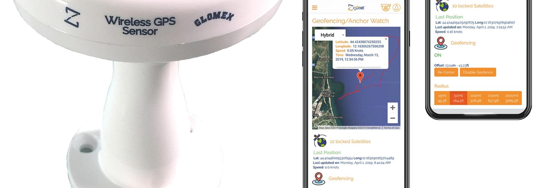 ERSTE ZIGBEE GPS-ANTENNE