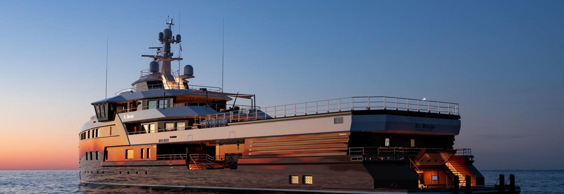 Galerie: Das Innere der ersten SeaXplorer 77 Superyacht La Datcha