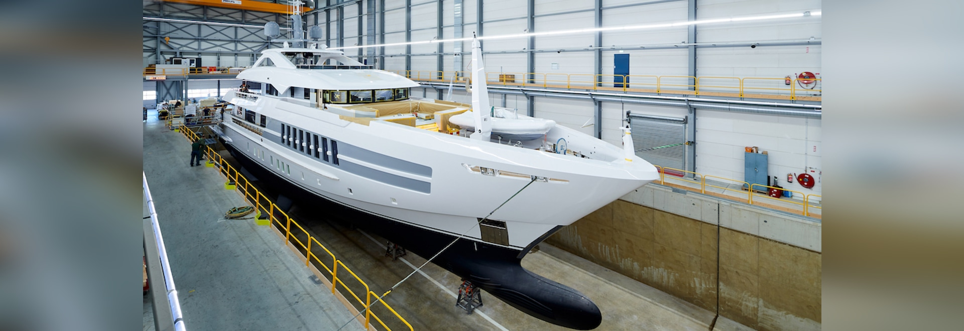 Heesen lanciert 55m Superyacht Projekt Castor