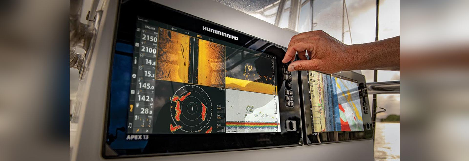 Humminbird stellt die APEX-Serie vor: Ein Premium-MFD mit Full-HD-Display, erstklassigem Sonar und Vernetzungsoptionen