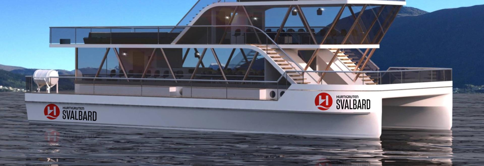 Hurtigruten baut vollelektrische Explorer-Katamarane